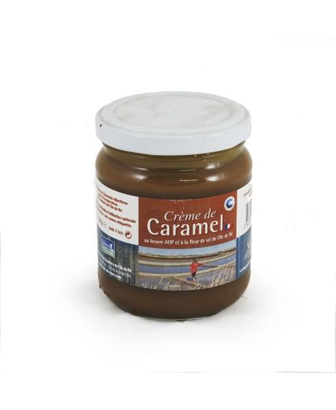 CACR240G20LS Crème De Caramel Au Beurre AOP Et Au Sel De L'Île De Ré 240g