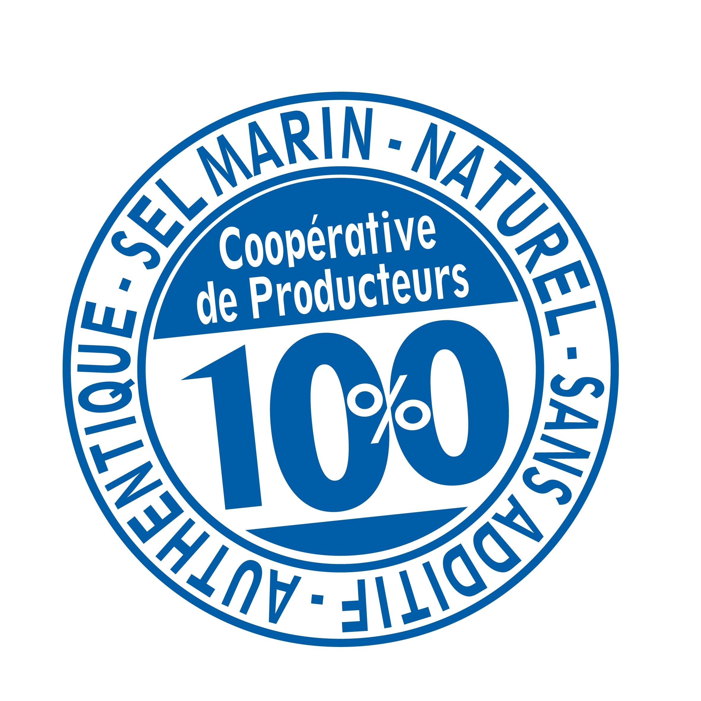 Picto 100% Coopérative Sel de l'île de Ré