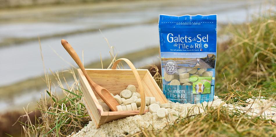Galets de sel de l'Île de Ré