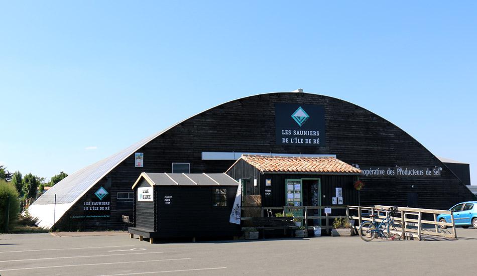 Bâtiment de la Coopérative des Sauniers de l'île de Ré