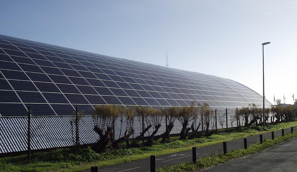 Panneaux solaires photovoltaïques de la Coopérative